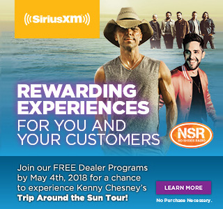 Chance to experience Kenny Chesney's Trop Around the Sun Tour
