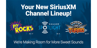 Your New SiriusXM Channel Lineup!