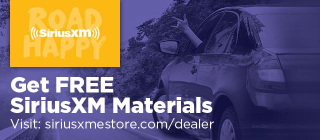 Get Free SiriusXM Materials at the Dealer eStore