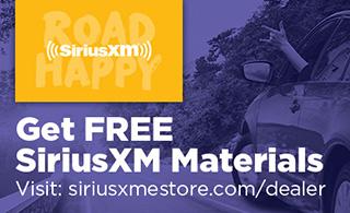 Get Free SiriusXM Materials at the Dealer eStore!